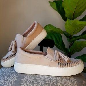 VINCE CAMUTO Leather Kayleena Slip-on Shoes